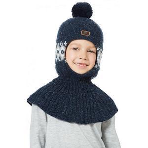 Шапка-шлем  Порт Kotik. Цвет: синий