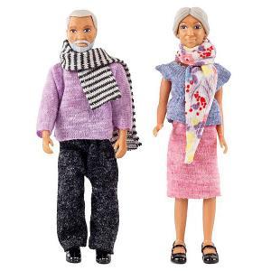 Набор кукол для домика  Бабушка с дедушкой Lundby. Цвет: разноцветный