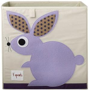 Коробка для хранения , Кролик 3 Sprouts. Цвет: фиолетовый