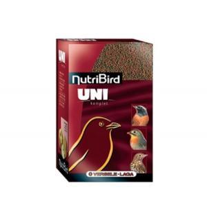 Корм  гранулированный для мелких насекомоядных и фруктоядных птиц NutriBird Uni komplet, 1кг Versele-Laga