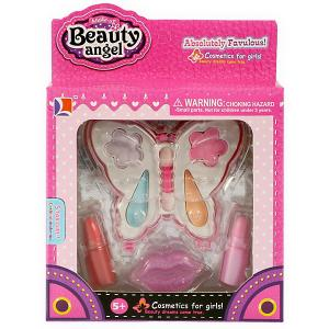 Детская декоративная косметика  Бабочка-1, 8 предметов Beauty Angel