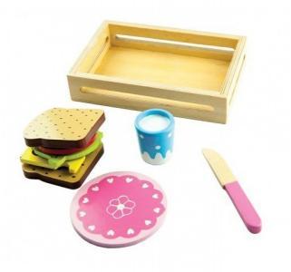 Набор игровой  Сэндвич 9 предметов Mapacha