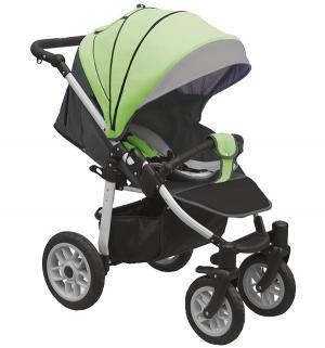 Прогулочная коляска  Eos, цвет: темно-серый/салатовый Camarelo