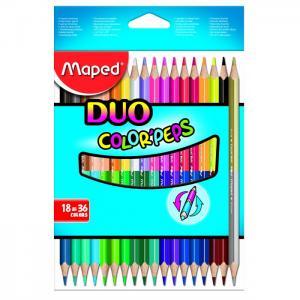 Карандаши цветные Color Peps 36 цветов 18 шт. Maped