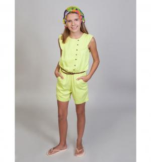 Комбинезон  Фламинго, цвет: желтый Luminoso