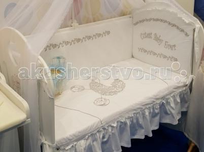 Комплект в кроватку  Коляска (7 предметов) Селена (Сдобина)
