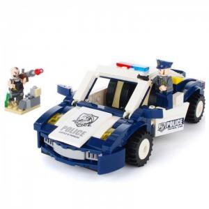 Police Полицейский автомобиль (303 детали) Enlighten Brick