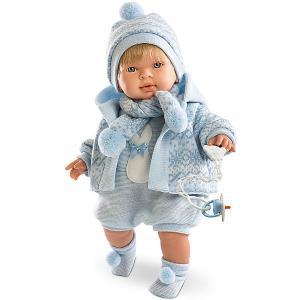 Кукла-пупс  Лола в голубом боди, 42 см Llorens