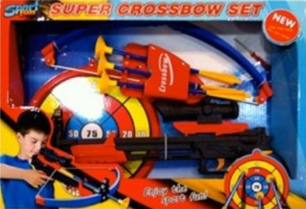 Набор игрушечный Арбалет со стрелами Toy Target