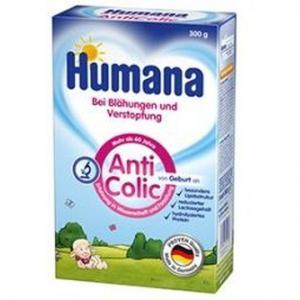 Молочная смесь  Anti-colic с рождения, 300 г Humana