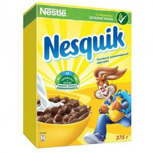 Готовый завтрак , 375 г, 1 шт Nesquik