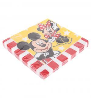 Бумажные салфетки  Микки и Минни 33 см Procos