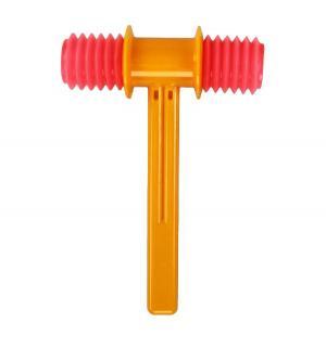Развивающая игрушка  Молоток озвученный, цвет: оранжевый 19.2 см Аэлита