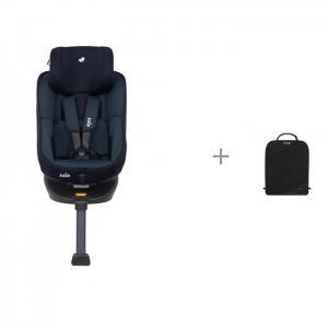 Автокресло  Spin 360 и защитный коврик на спинку сидений Munchkin Brica Joie
