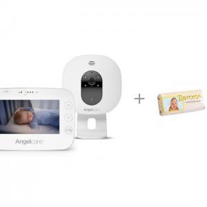 Видеоняня c 4,3 LCD дисплеем и мыло детское 100 г Свобода Angelcare