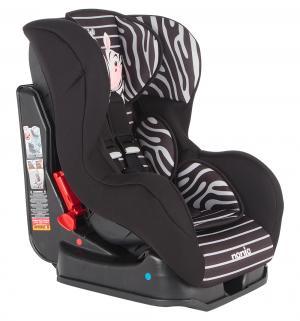Автокресло  Cosmo SP Animals, цвет: черно-серые полоски/рисунок зебра Nania