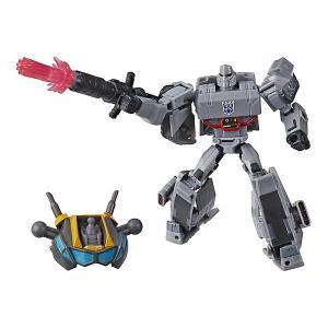 Трансформеры Transformers Кибервселенная Делюкс Мегатрон, 12 см Hasbro. Цвет: разноцветный