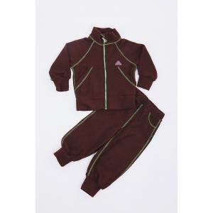 Спортивный костюм  Шоколад ЛисФлис. Цвет: зеленый