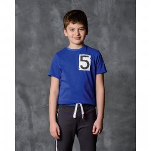 Футболка для мальчика Modniy Juk. Цвет: синий