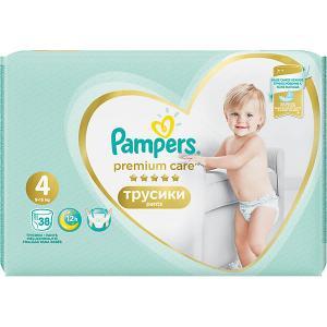Трусики  Premium Care 9-15 кг, 38 шт Pampers