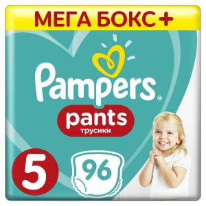 Трусики-подгузники  Pants, р. 5, 12-17 кг, 96 шт Pampers