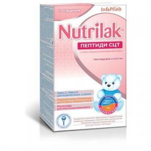 Молочная смесь Нутрилак Пептиди СЦТ гидролизованная с рождения, 350 г Nutrilak