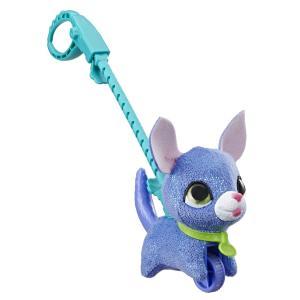Интерактивная мягкая игрушка  Питомец на поводке Собака цвет: синий FurReal Friends