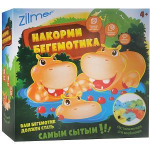 Настольная игра  Накорми бегемотика Zilmer