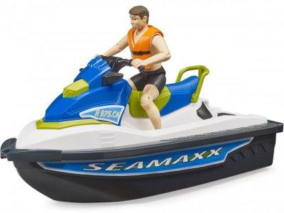Водный мотоцикл с фигуркой Bruder