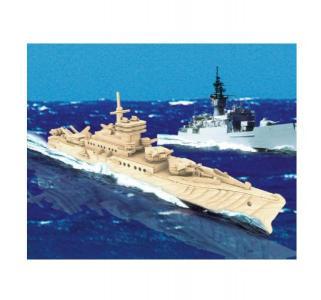 Сборная деревянная модель  Крейсер Мир Деревянных Игрушек