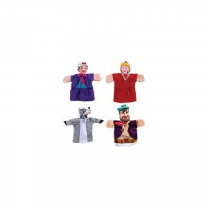 Кукольный театр Красная шапочка, 4 куклы, Жирафики