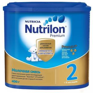 Молочная смесь  Premium 2 PronutriPlus с 6 месяцев, 400 г Nutrilon