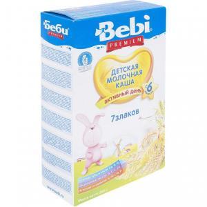 Каша  молочная 7 злаков с 6 месяцев 200 г Bebi