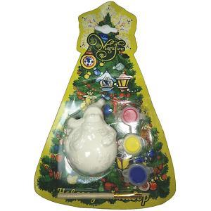 Новогодний набор для росписи  Снеговик кругленький Magic Time