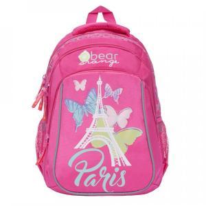 Ранец школьный , цвет: розовый Grizzly