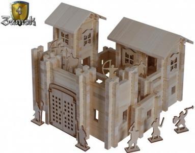 Конструктор  Замок №4 (600 деталей) Лесовичок