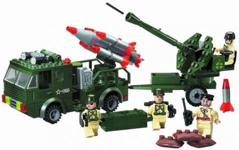 Машина ракетной артиллерией (242 детали) Enlighten Brick