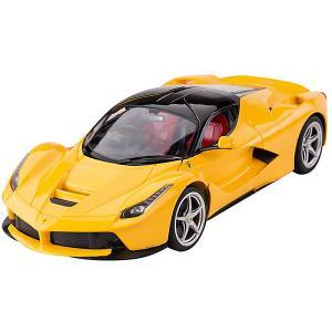 Радиоуправляемая машина  Ferrari LaFerrari 1:14, жёлтая Rastar. Цвет: желтый