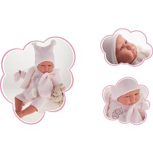 Кукла-младенец Antonio Juan Салюд, 52 см Munecas. Цвет: розовый