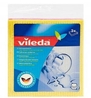 Салфетка губчатая Vileda