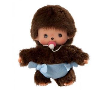 Мягкая игрушка  Мальчик в подгузнике 15 см Monchhichi