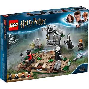 Конструктор  Harry Potter Возвращение Лорда Волан-де-Морта, 184 деталей, арт 75965 LEGO. Цвет: разноцветный