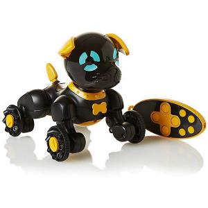 Робот на р/у  Собака Чиппи, черная WowWee. Цвет: желтый