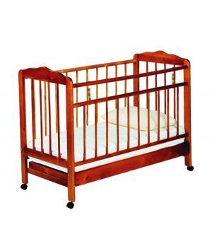 Кровать-качалка  Женечка-2, цвет: вишня ИП Смирнов