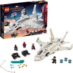 Конструктор  Super Heroes 76130: Реактивный самолёта Старка и атака дрона LEGO