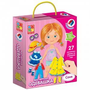 Магнитная игра Одевашка Соня Vladi toys