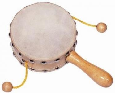 Музыкальный инструмент  Барабанчик на ручке Goki