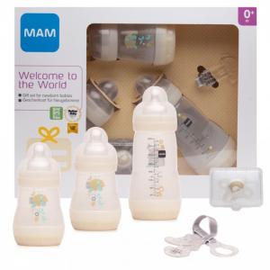 Подарочный набор для новорожденных Welcome to the world Giftset 62860010/3 с 0 мес. MAM