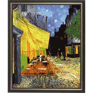 Картина со стразами Ночное кафе Ван Гог алмазная Color Kit