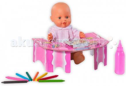 Кукла Le Petit Bebe 32 см со столиком и аксессуарами для школы Loko Toys